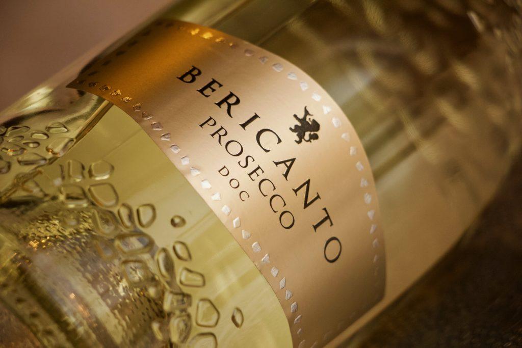 Bericanto prosecco sparkling wine from Berici Hills